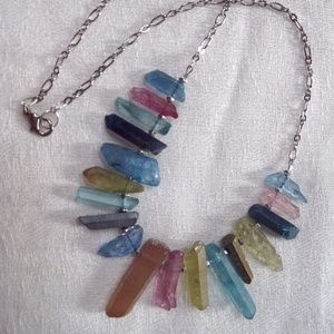 Jewelry - Multicolor Luster Quartz Necklace